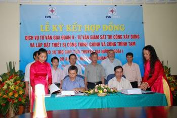 Lễ ký kết Hợp đồng dự án Thủy điện Huội Quảng