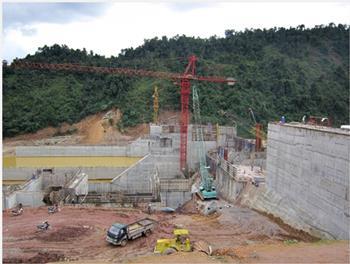 Công trình thủy điện Sông Bung 5