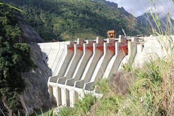 Đóng hầm dẫn dòng, tích nước hồ chứa công trình Nhà máy Thủy điện Huội Quảng