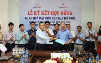 Lễ ký kết Hợp đồng Dự án Nhà máy Thủy điện Ialy mở rộng