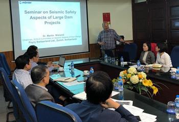 """Hội thảo khoa học """"An toàn động đất của các dự án đập lớn"""""""