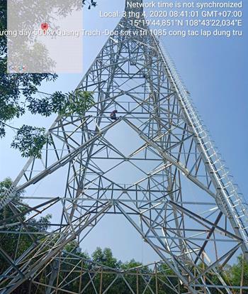 Giải phóng mặt bằng cho đường dây 500kV mạch 3 tại Quảng Ngãi còn nhiều vướng mắc